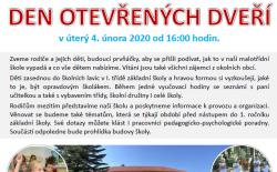 Den otevřených dveří - školka v Dolním Třeboníně
